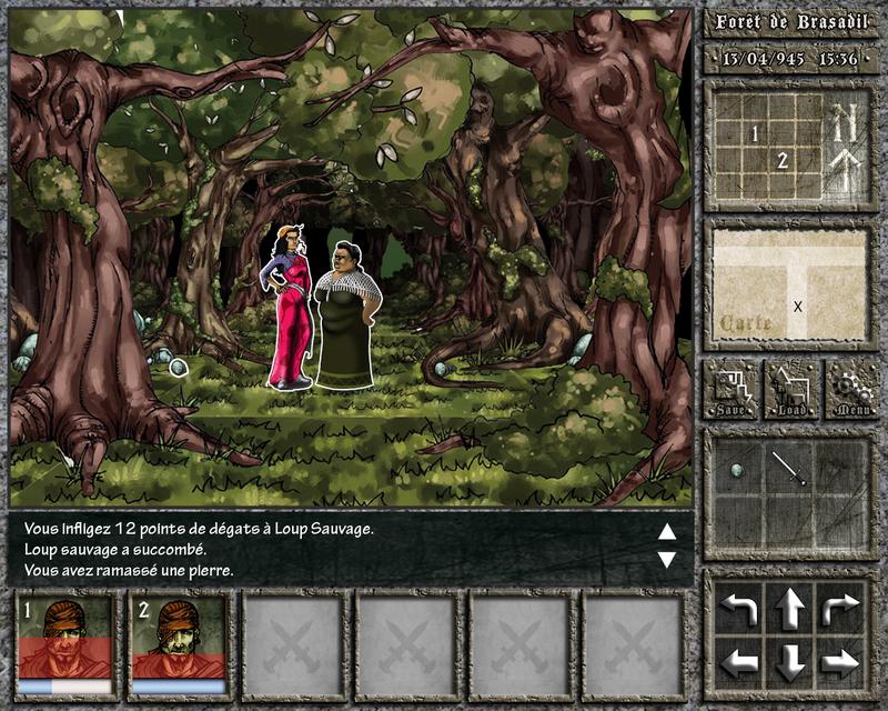 Era of the Beast - Livre dont vous êtes le héros électronique (Unity) Interface_05_2010